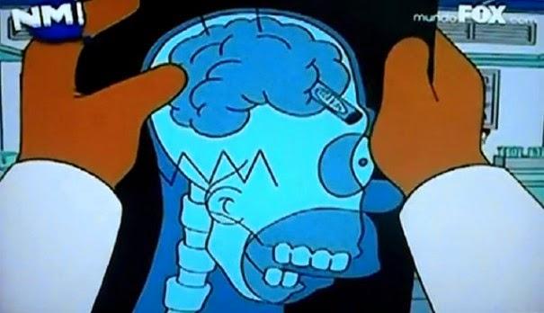 HOMR, Homero inteligente, Homero y el crayon
