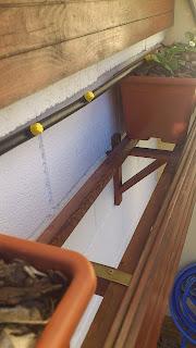 Estructura huerto vertical