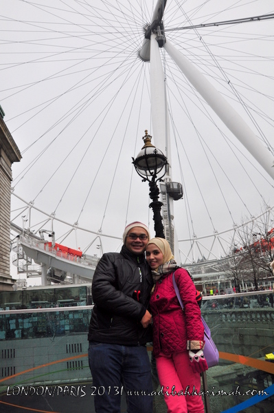 Garam buluh hai-o top agent going to visit london eye with husband