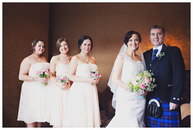 Atmospheric Scottish Tea Party Wedding With Diy Details Us225