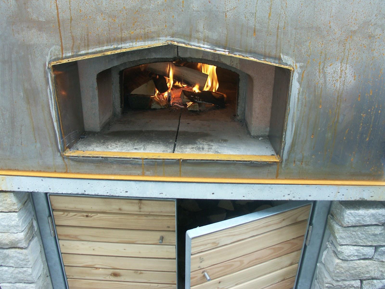 Außenküche Mit Pizzaofen : Grill pizzaofen kombination selbst bauen
