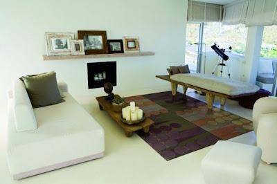 alfombra de cuero