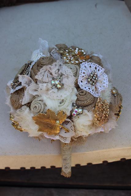Burlap and Lace Wedding