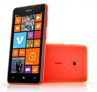 Spesifikasi dan Harga Terbaru HP Nokia Lumia 625