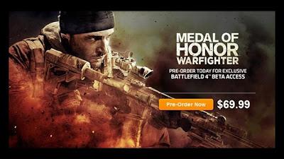 O anúncio vazado de Medal of Honor (Foto: Reprodução)