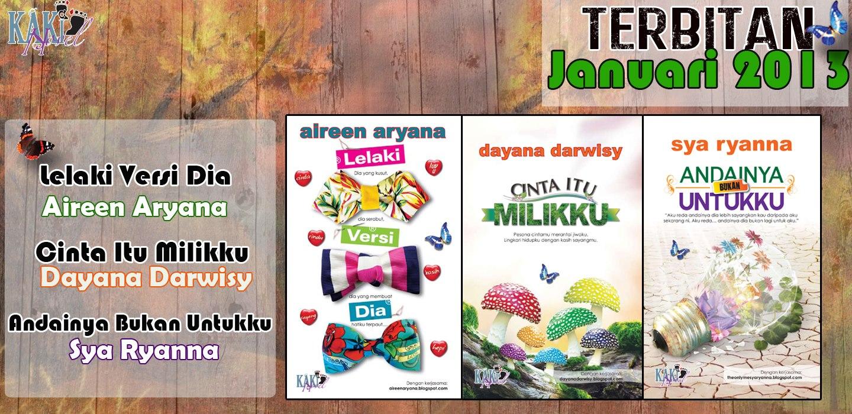 Novel Terbaru Karya Seni Januari 2013