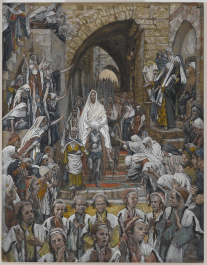 Triumphal entry of Jesus into Jerusalem - James Tissot