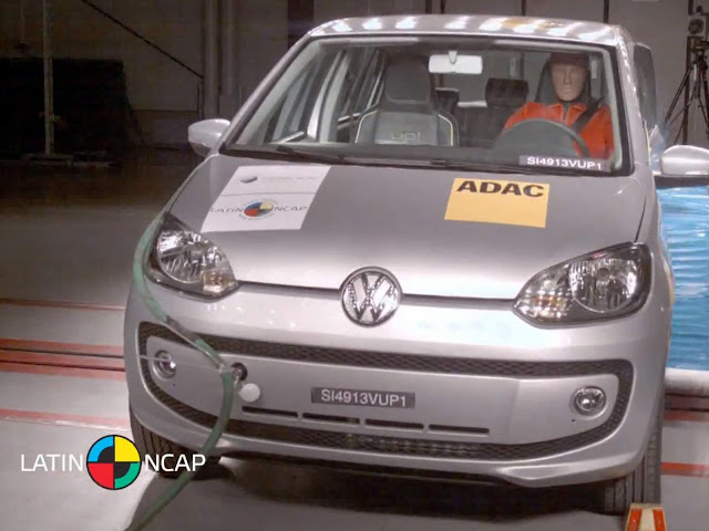 Volkswagen Up! - crash test