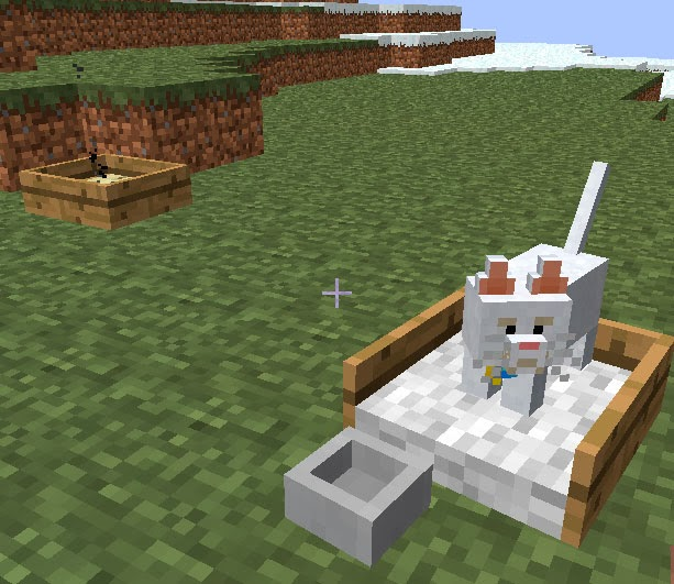 Mo' Creatures caja arena gato Minecraft mod