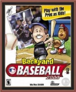 Backyard Baseball 2003 Cover, Poster