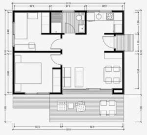 Planos de casas gratis plano para construir en terreno for Planos para cocinas integrales gratis