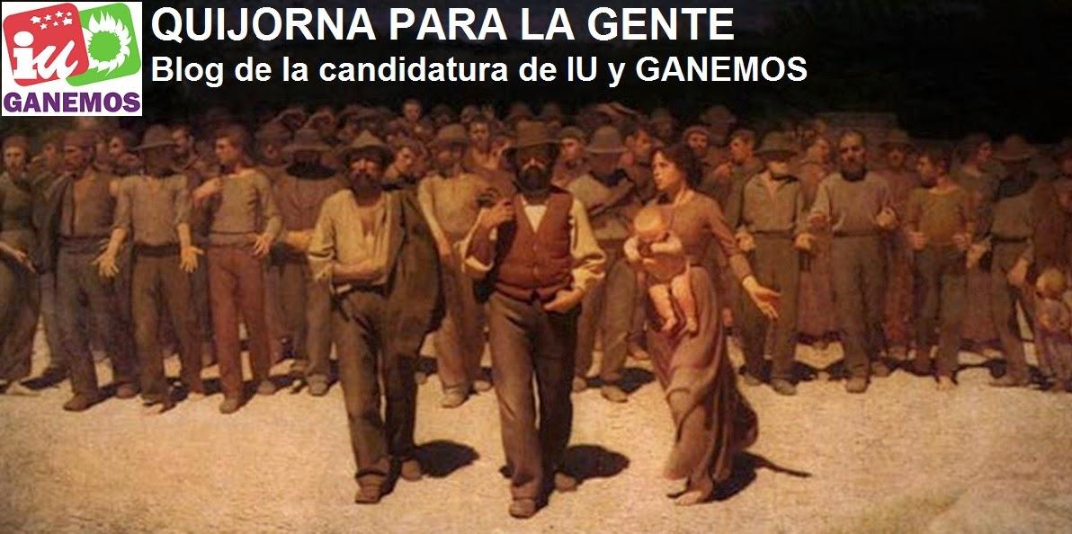 Blog de la candidatura. Elecciones 2015.