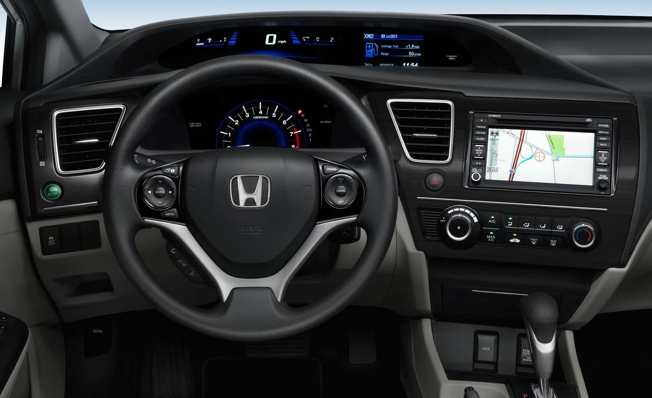 Honda Civic Interior Car Models