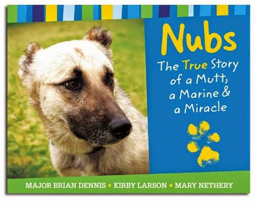 http://www.amazon.com/Nubs-True-Story-Marine-Miracle/dp/031605318X
