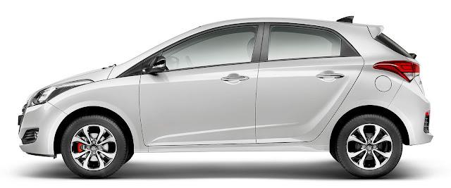 Hyundai HB20 2016 R-Spec - Branco