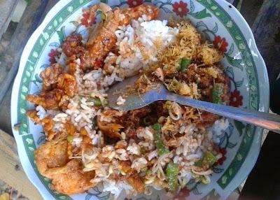 Nasi Kobel Khas Sampang