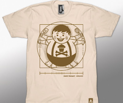 The Vitruvian Big Kid T-Shirt by Johnny Cupcakes