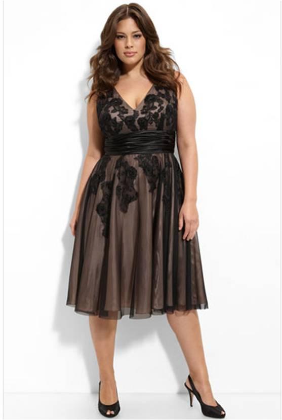 Строгое вечернее платье для полных девушек и женщин выбрать не так легко, знаю по себе
