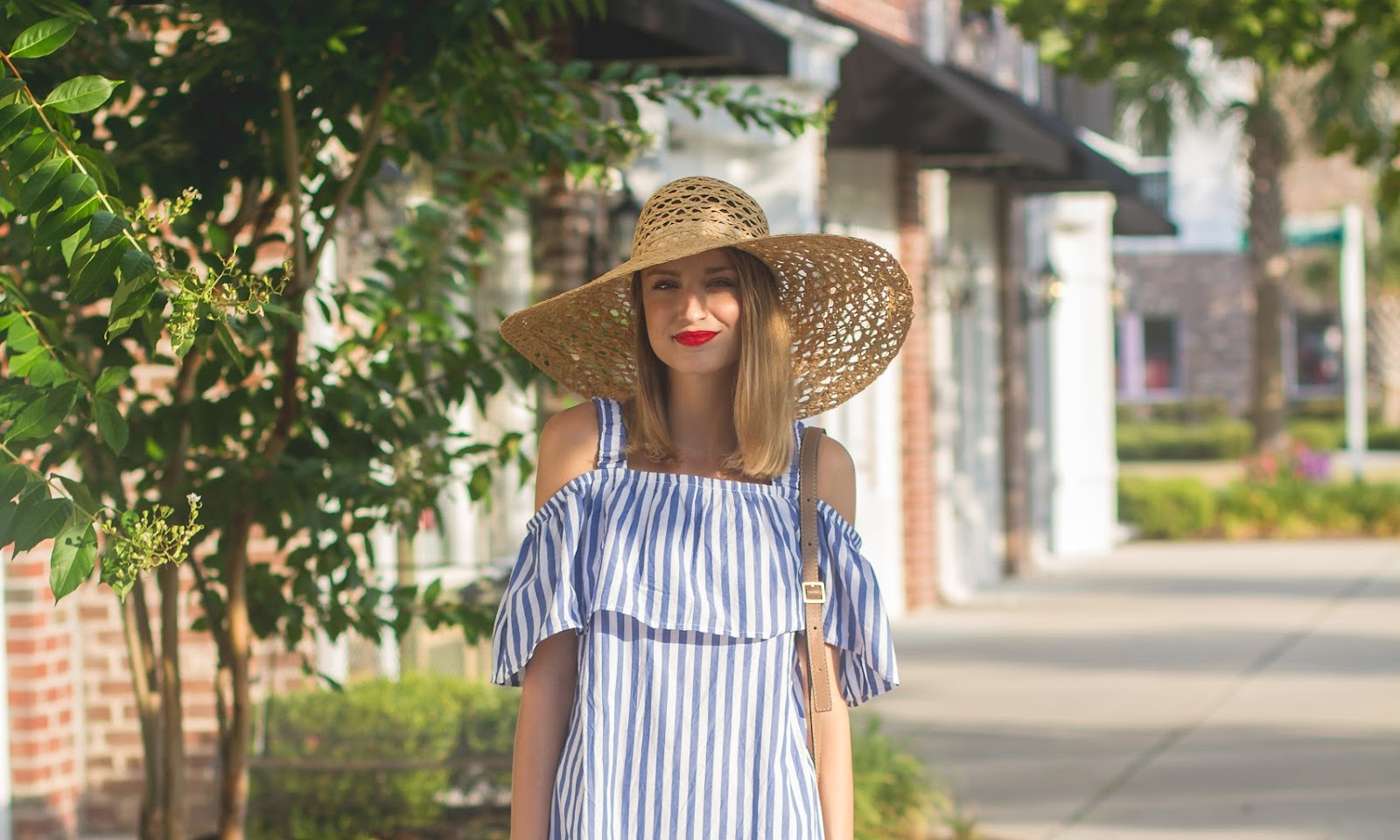 Stripe Mini Dress : WHIT Two