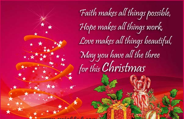 christmas greetings messages