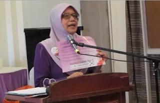 bekas naib ketua Wanita Umno Datuk Kamilia Ibrahim.