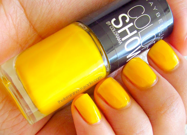 Maybelline Color Show Nail Polish in Electric Yellow