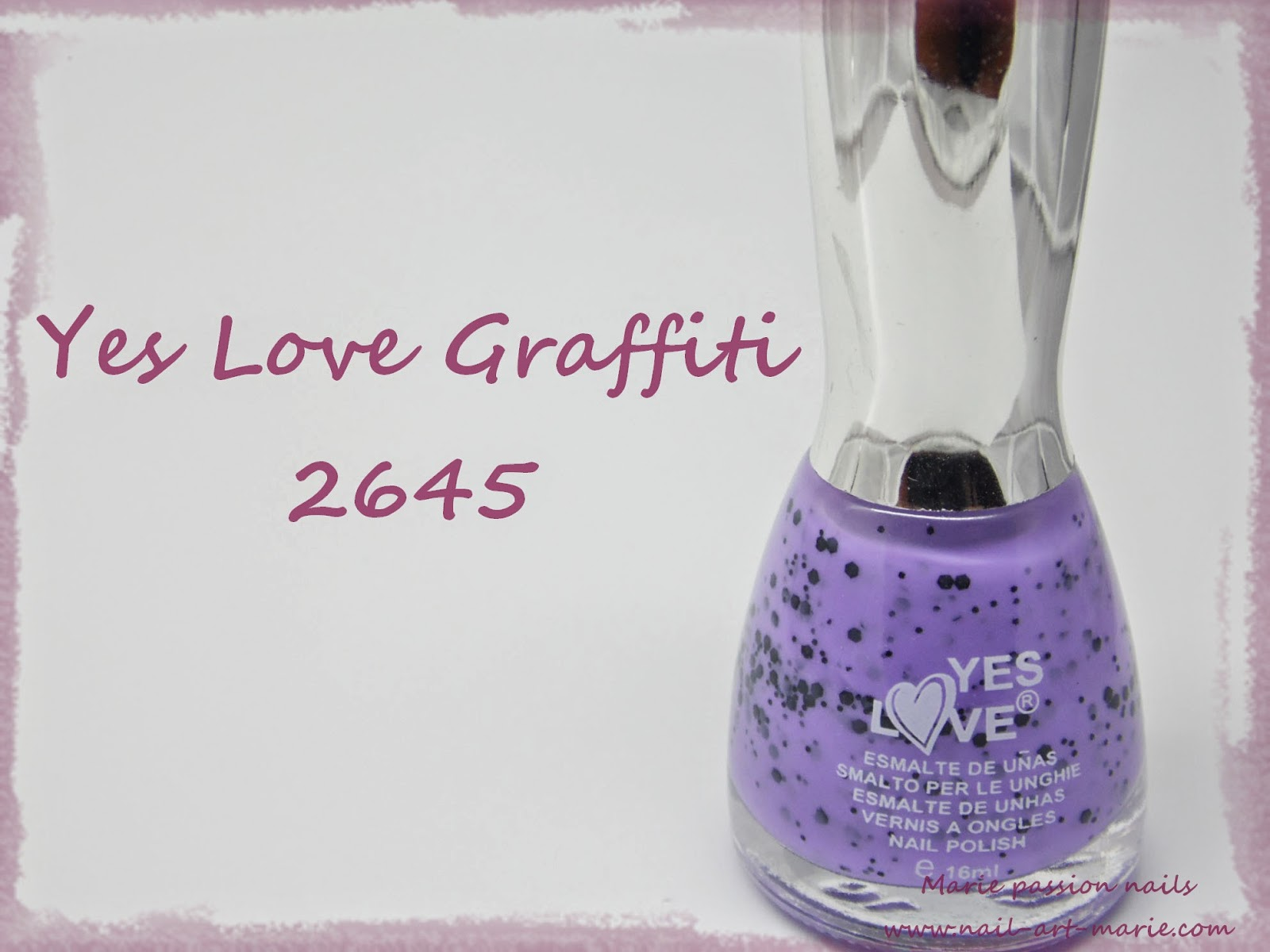 Yes Love Graffiti Violet1