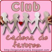 Club Cadena de Favores de blogs literarios