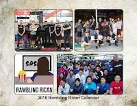 2018 Rambling Rican Calendar for Sale!