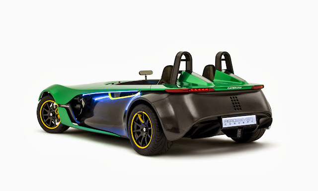 Caterham+Aero+Seven+Rear+Three+quarters [Video] Caterham AeroSeven Concept: Lean and Green