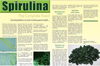 Green Food-Spirulina