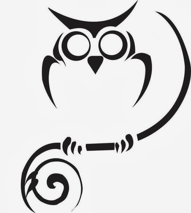 Printable owl stencils - photo#21