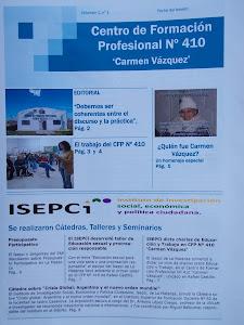 Boletine Informativos Nº 1 CFP-ISEPCi