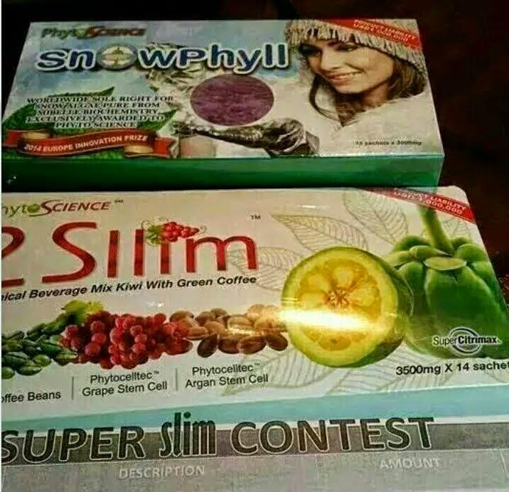 Set Kurus (2 2Sllim + 1 Snowphyll = RM385)