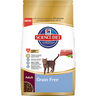 Dry Grain-Free Cat Food from Hill's Science Diet