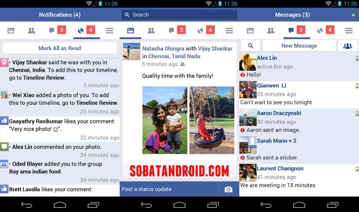 Aplikasi Facebook Android Tercepat
