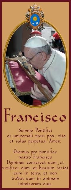 Oremus pro pontífice nostro