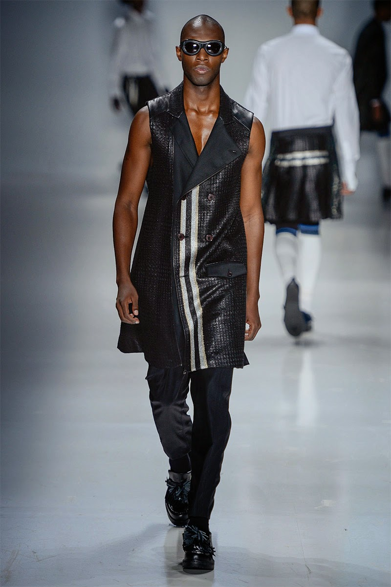 cool chic style to dress italian  alexandre herchcovitch men spring  summer 2015