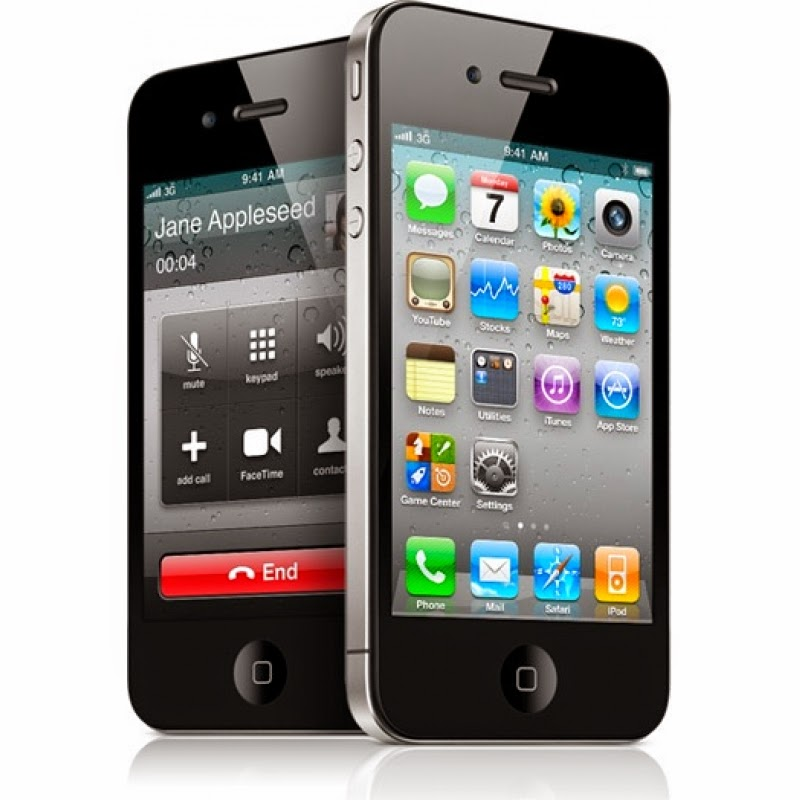 Spesifikasi Handphone Iphone 4S - Black