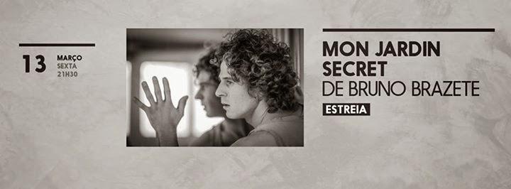 Mon Jardin Secret, Bruno Brazete, Dança, Teatro Municipal da Guarda