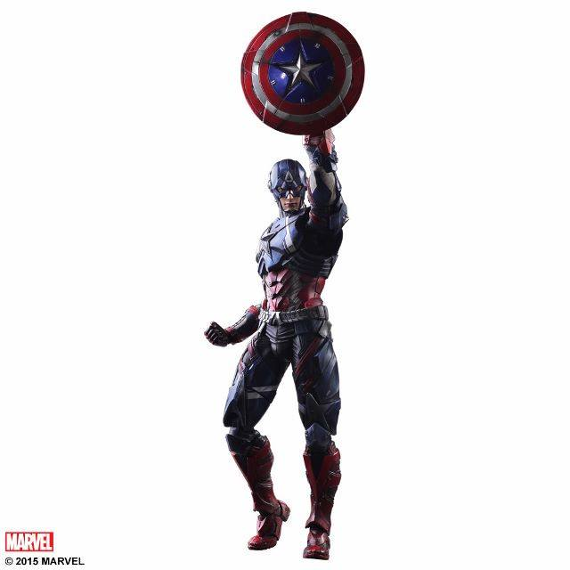 Play Arts Kai Captain America Marvel Cinematic Universe