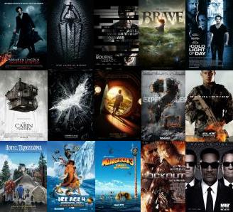 Movies of 2012 (I May or May Not Watch) - Part 1