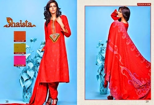 Shaista Cloth Eid Collection 2014