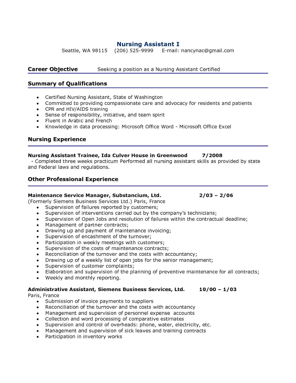 certified nurse assistant resume, cna resumes, cna resume examples, cna resume samples, cna resume template, free-sampleresumes.blogspot.com