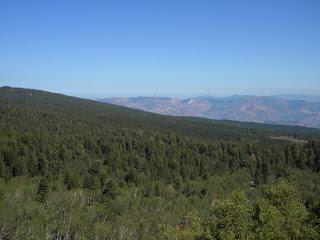 panorama sui Peloritani