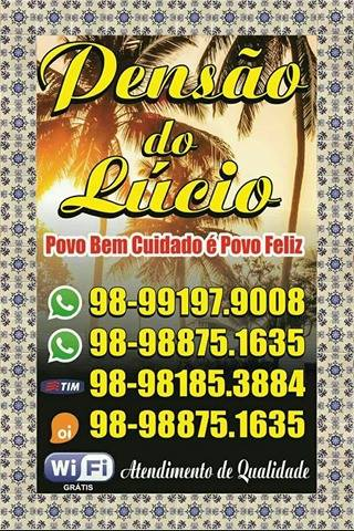 Pensão do Lúcio em São Luis-MA