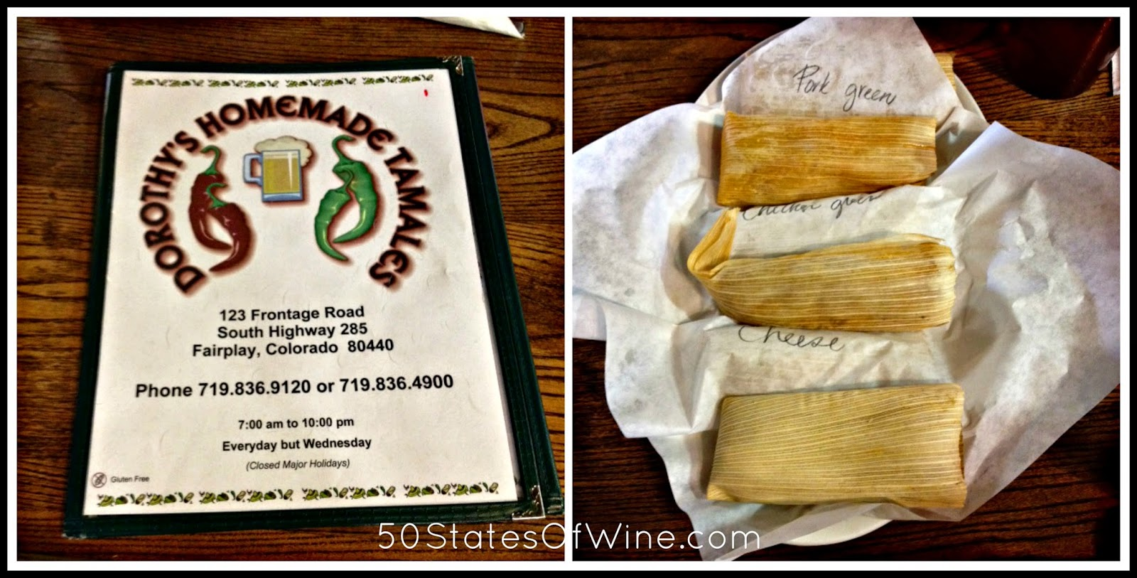 Restaurants in Breckenridge Dorothy's Homemade Tamales