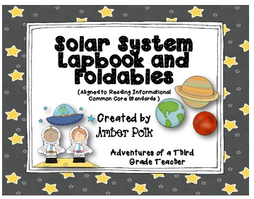 http://www.teacherspayteachers.com/Product/Solar-System-Lapbook-Unit-Common-Core-519715