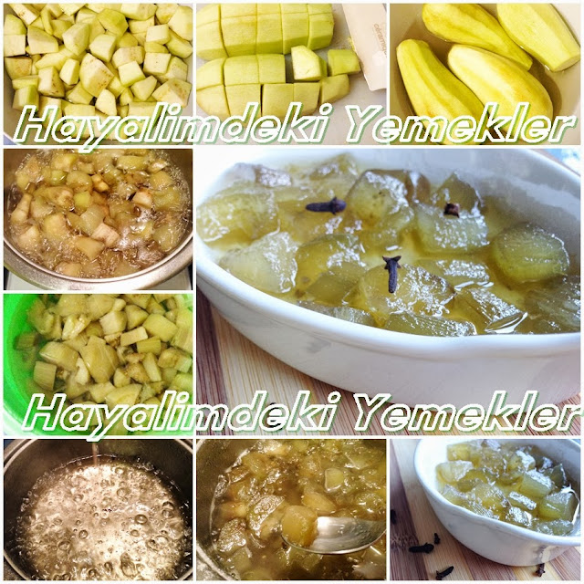 Patlıcan Reçeli nasil yapilir