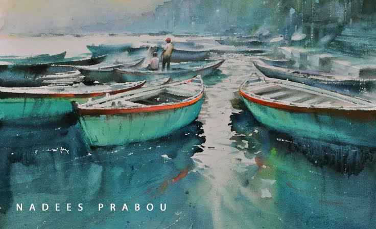 Nadeesh Prabou Watercolours